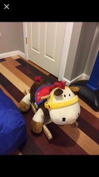 ROCKING HORSE PLAYS MUSIC-Paid $80