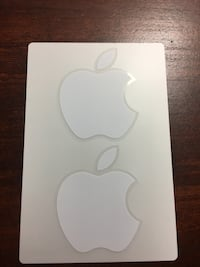 2 set original apple logo stickers Winnipeg, R3E