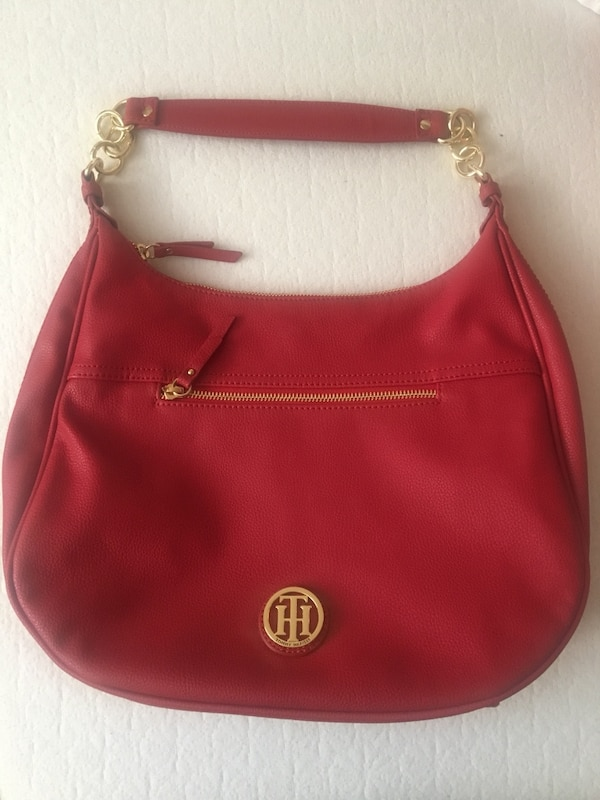2ce2469e63d7 Used Tommy Hilfiger Red Hobo bag for sale in San Jose - letgo