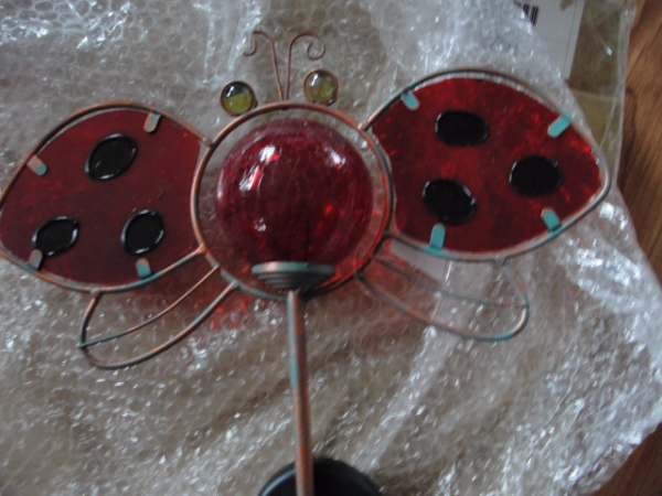 NEW solar butterfly garden stake red       Havelock, ON K0L 1Z0, Canada