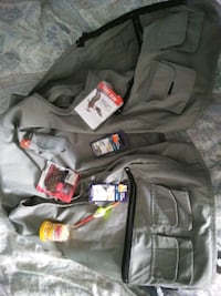 Fishing vest and tackle