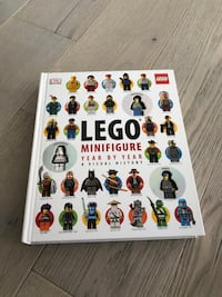 LEGO minifigures book Arlington, 22202