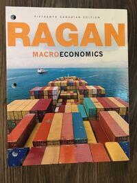 Ragan Macroeconomics Text Book Port Alberni