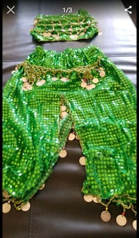 green and yellow knitted textile Los Angeles, 90022