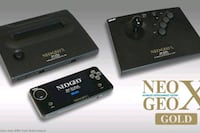 Neo Geo X Gold Complete without box. Hamilton, L0R 1W0