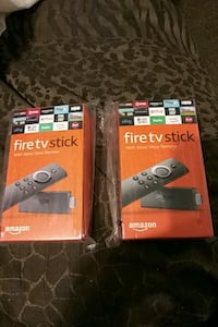 two Amazon Fire TV Stick boxes Hinesville, 31313