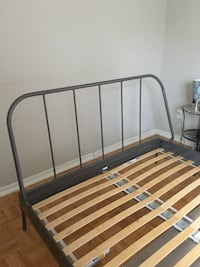 Ikia queen metal bed frame  Toronto, M1M 1T8