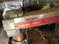 Black and gray craftsman radial arm saw Poolesville, 20837
