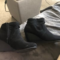 Size 7 ( Blowfish boots) I only wore them for half a day! Too tight for my feet Calgary, T2K 4R3