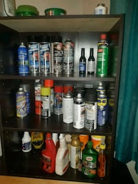 Assorted spray and cleaners and motor oil Edmonton