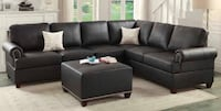 Brand New Black Leather Living Room Set ! Tucson, 85705