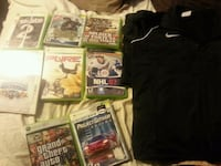 Xbox games and Nike sweater  Edmonton, T6L 4B2