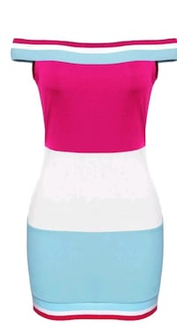 women's pink and white sleeveless dress Atlanta, 30305