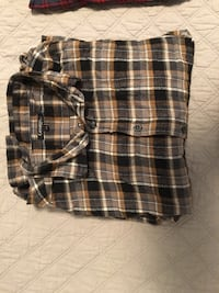 George Brown Plaid shirt Halifax, B4B