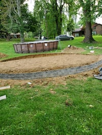 sand and level to install your pool. Louisville