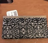 Black and White Clutch Purse