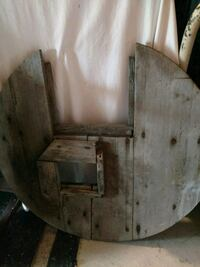 Old Wooden  Pump Cover