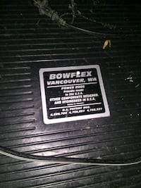 bowflex work out gym. folds up for easy storage.