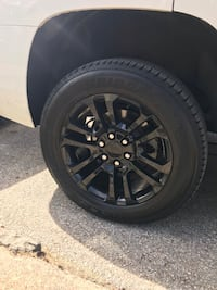 Chevy 20 inch GM Gloss Black rims and tires Peekskill, 10566