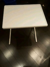 white and gray table lamp Oshawa, L1J