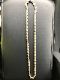 7mm gold chain