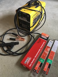black and yellow DeWalt power tool charger