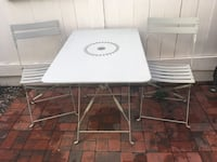Patio table and two chairs Rockville, 20850