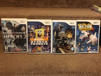 4 Wii Games in excellent working condition Surrey, V3T 5K1