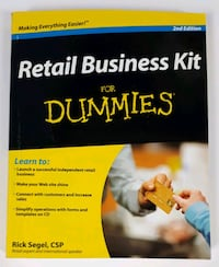 Retail Business Kit for Dummies with CD Barrie, L4N 7L8