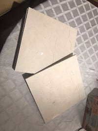6 crema marfil tiles (surplus, brand new)