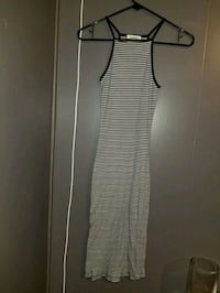 women's black and white striped dress Surrey, V3S 9R6