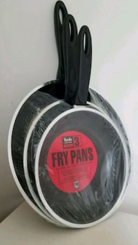 New - Set of 3 Non-Stick Fry Pans