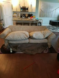 gray fabric 3-seat sofa Chestermere, T1X 0N4