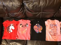 4pc tshirt size S5/6 Childreen Place