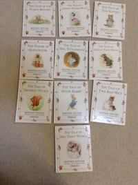 10 book set Beatrix Potter Peter Rabbit and books of other friends