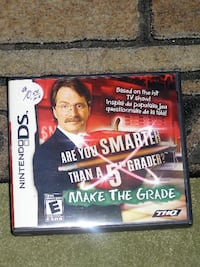 """Nintendo DS """"Are You Smarter Than A 5th. Grade"""" Game i Langley"""