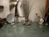 silver and white floral table lamp Winnipeg, R2Y 1V2