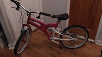 red and gray full-suspension bike New York, 11103