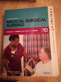 Introductory Medical-Surgical Nursing 10 Edition textbook