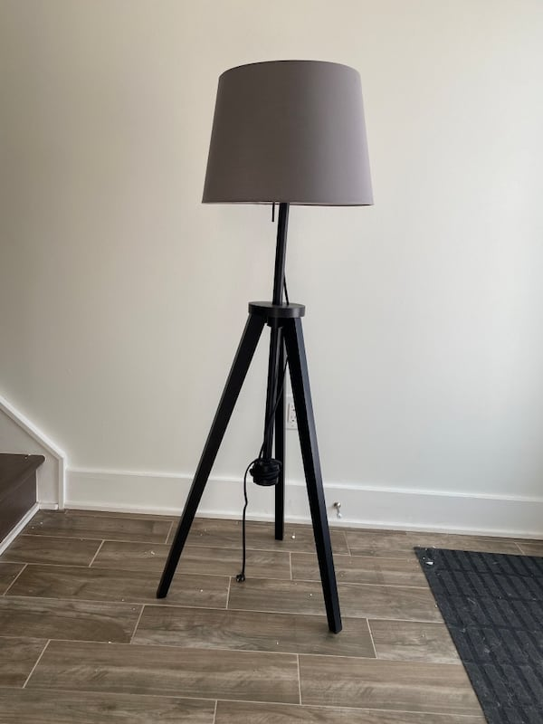 Used Ikea Tripod Floor Lamp For In