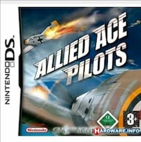 """ALLIED ACE PILOTS"" NINTENDO DS, ITALIANO, NUOVO!"
