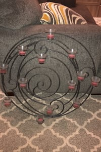 Wrought iron decorative candle wall hanging Breinigsville, 18031