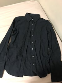 club monaco black cutton up top xs Toronto