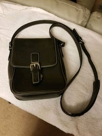 Brown Leather Coach Over Shoulder Bag