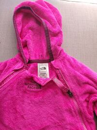 North face fleece bunting 6-12 months  Newton, 02465