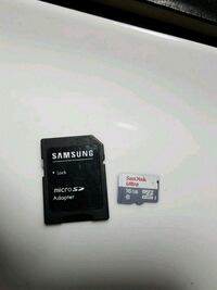 16gb sd card with adapter  Burnaby, V5A 4G5