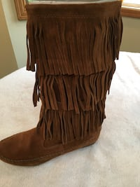 New 'LC' Frill Boots- Never Worn Warren, 07059