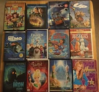 assorted-title DVD case lot Port Coquitlam, V3C 1X1