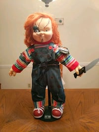 25 INCH CHUCKY DOLL ON TALKING STAND Allentown, 18104