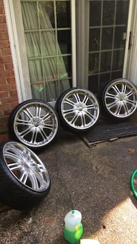MAAS 026MS M26 Rims With Tires Silver Spring, 20901